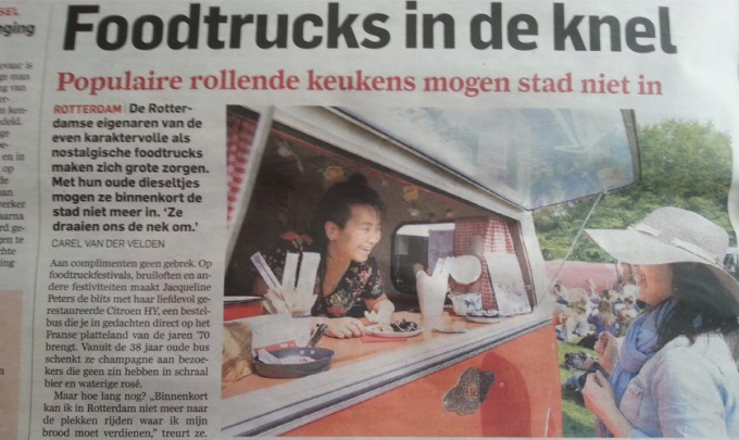 Foodtruckers in de knel! - AD