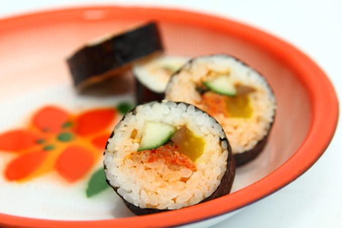 김밥 Kimbap 6 Stuks