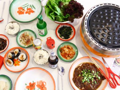 Korean BBQ - Allegaartje