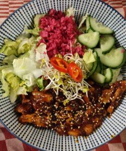 Korean Food by Allegaartje Spicy Chicken