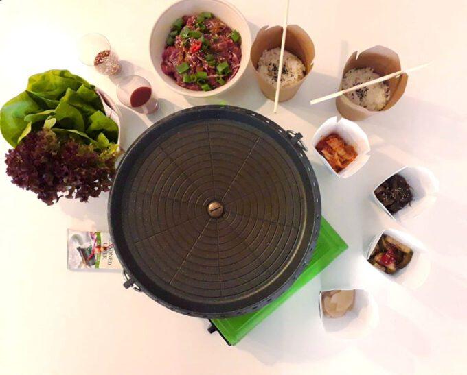 Korean BBQ Pakket (p.p.)