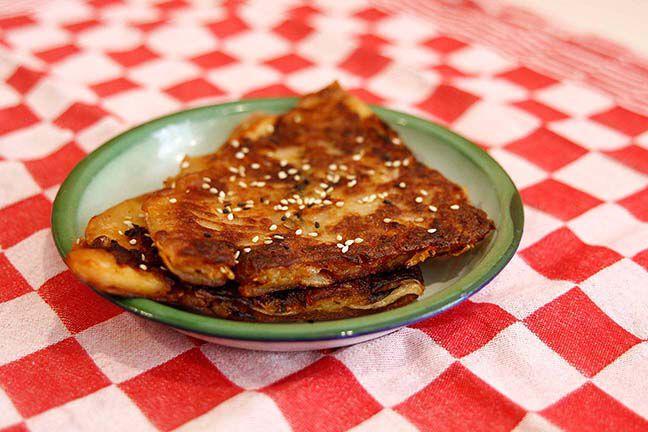 Kimchi Pannenkoek Half