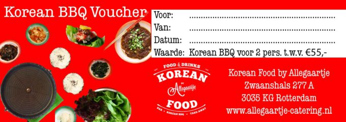 Korean BBQ Voucher