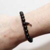 Ebony Beaded Bracelet Wrist Mala
