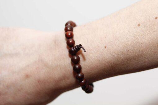Rosewood Wrist Mala